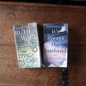 BOOK BUNDLE THE LYING GAME IT'S ALWAYS THE HUSBAND